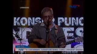 """Iwan Fals """"Kesaksian"""" Konser Puncak Indonesia Harmoni TVRI"""