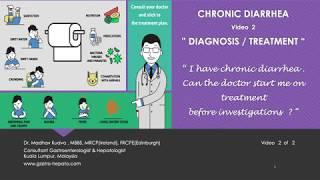 CHRONIC DIARRHEA - Diagnosis/Treatment
