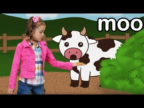 Free Download Vaca Muu | Aprenda Os Sons Dos Animais! Mp3 dan Mp4
