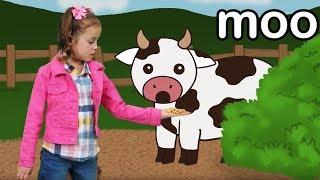 Vaca Muu   Aprenda Os Sons dos Animais!