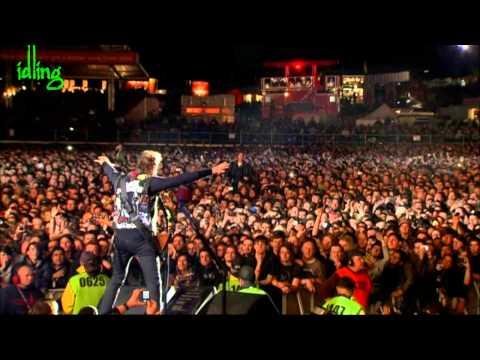 [HD]  MetallicA - Enter Sandman Live tv Download Fest 2012 UK