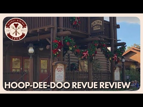 Hoop-Dee-Doo Musical Revue Review | Disney Dining Show | 12/15/17