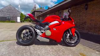New Rage Cycles Block Off Turn Signals - Unboxing and Install Panigale V4