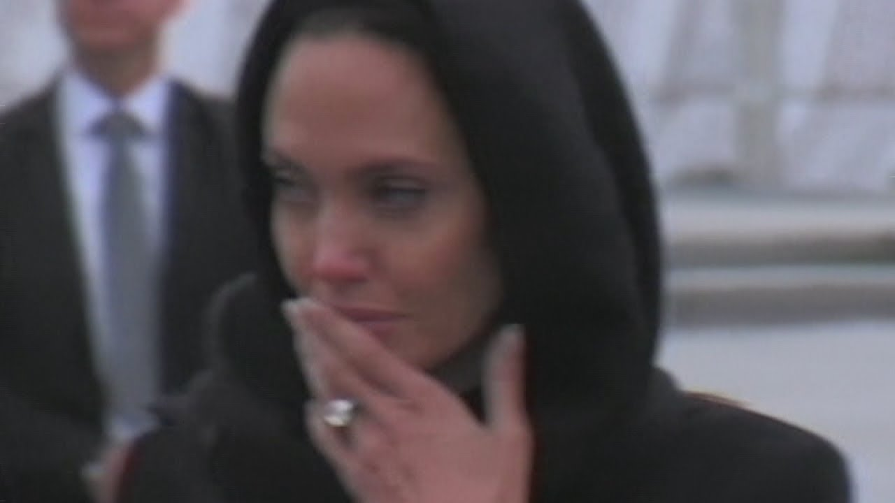 Angelina Jolie gets emotional talking to rape victims of Bosnian war