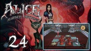 """ALICE MADNESS RETURNS #24 - Rozdział IV [3/5] - """"Zagadki i chluptanie po krwi"""" (18+)"""