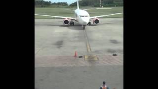 Lion Air on Parking Stand 5 (Sepinggan Airport, Balikpapan)