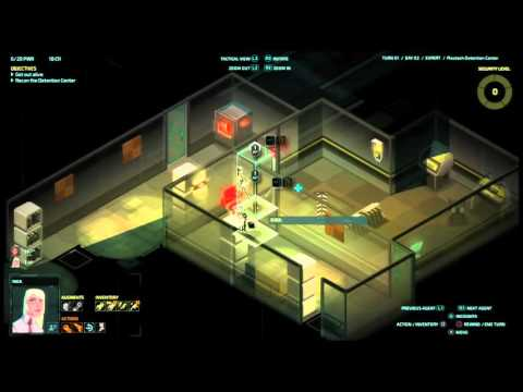 Let's play Invisible INC console EXPERT RUN #(011) cont.