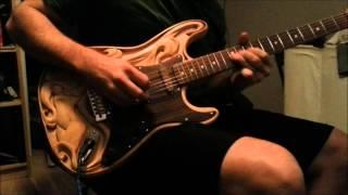 Blue on Black solo (cover) - Kenny Wayne Shepherd Band (KWS)