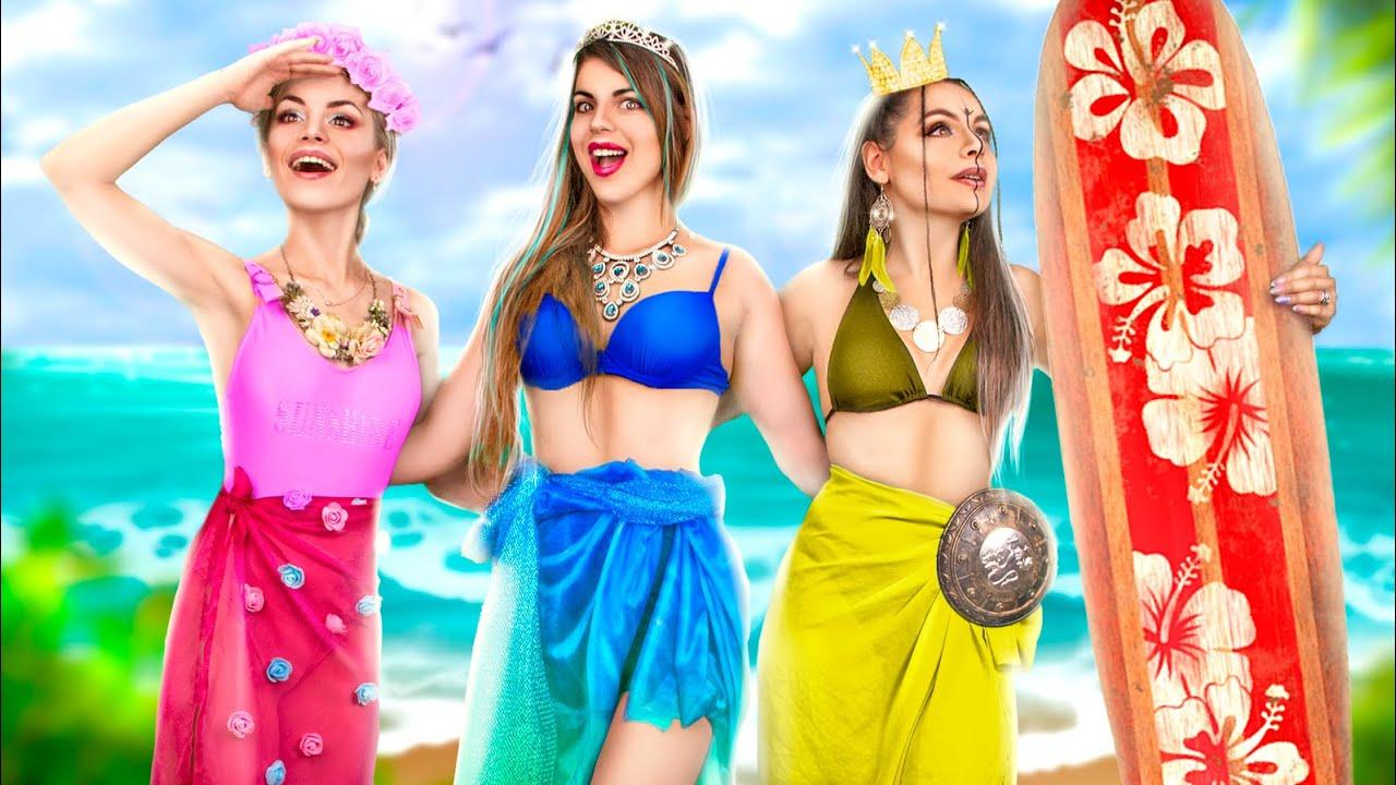 Принцессы на каникулах / Если бы принцессы попали в реальную жизнь!