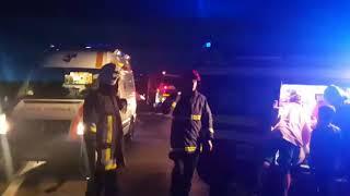 Accident autocar Darmanesti imagini ISU Suceava