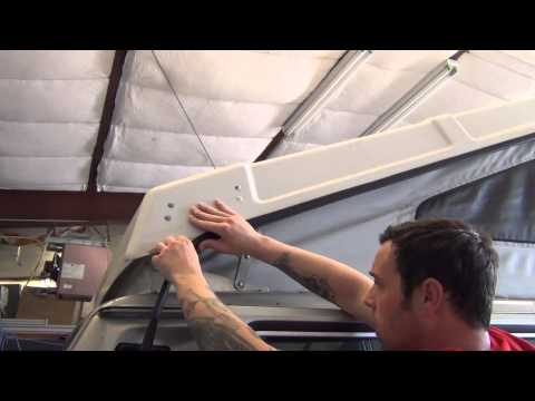 Installing the Pop Top Seal Kit on a Vanagon Westfalia