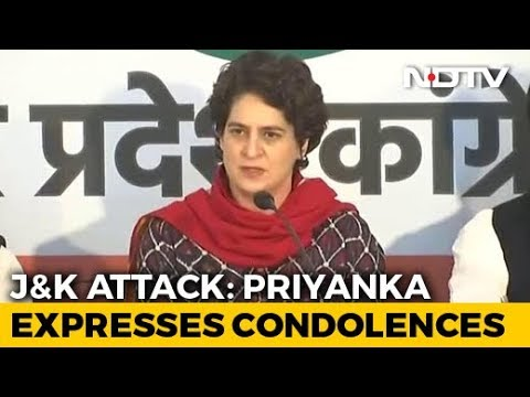 """Understand Pain Of Losing A Loved One"": Priyanka Gandhi On Terror Attack"