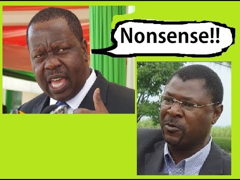 "Real Reason Matiangi Banned CBD Demos And Told Wetangula, ""Nonsense"""