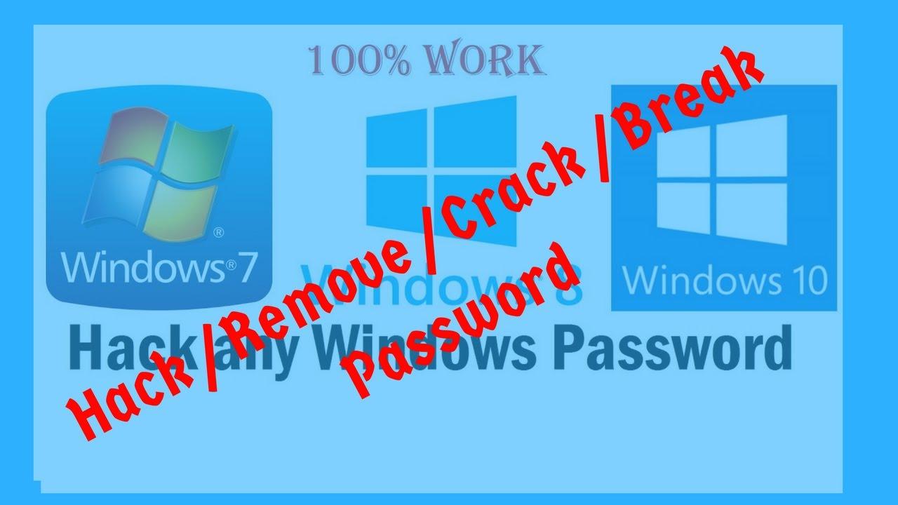 windows 8 password reset hack