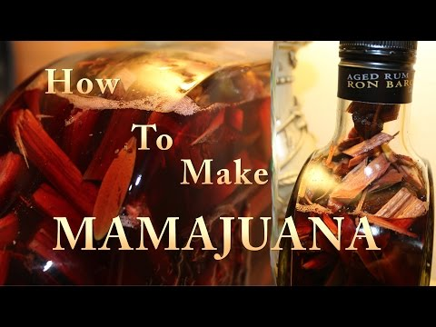 How To Make A Domincan Mamajuana