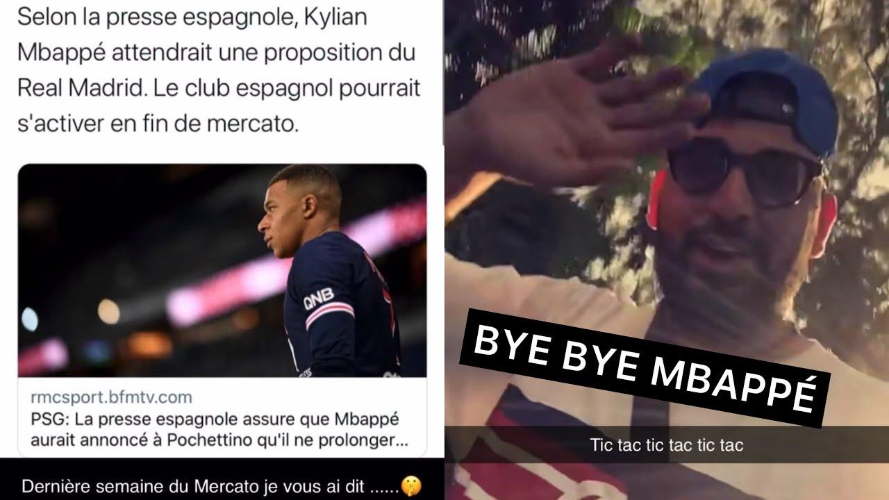 Mohamed Henni CONTENT DE VOIR MBAPPÉ PARTIR DE PARIS !