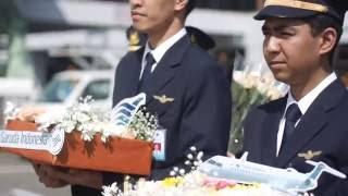 retirement of capt robertus haryantaka chief pilot of garuda indonesia crj 1000