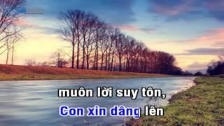 [Karaoke TVCHH] 024 - DÂNG CHÚA LỜI SUY TÔN - Salibook