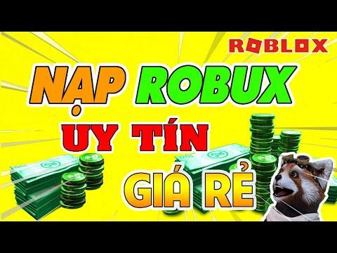 HƯỚNG DẪN CÁCH NẠP ROBUX Mới Trong Roblox Uy Tín Giá Rẻ Bằng Thẻ Cào Điện Thoại Thành Công 100%