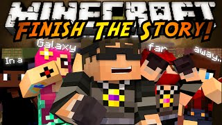 Minecraft Mini-Game : FINISH THE STORY 2!