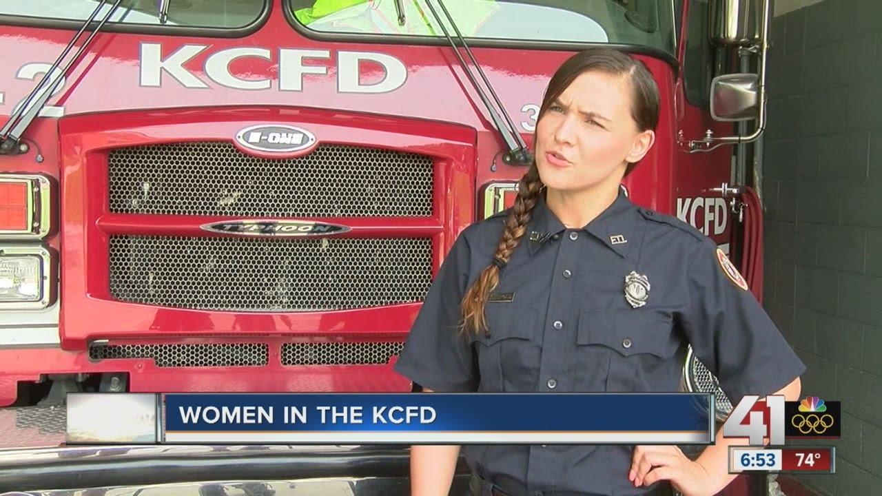 Women in the Kansas City Fire Department