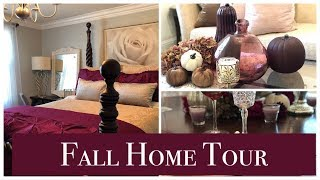 Fall Home Tour/Decorate with Me/Floral Arrangement