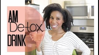 Morning Detox Drink for Metabolism Boost and Weight Loss