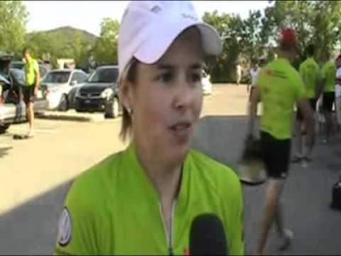 Tour Frédérick Duguay - Mireille Roberge - cyclistes - EstriePlus