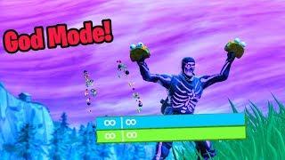 unlimited health glitch fortnite (become invincible)