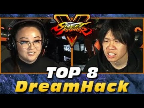 SFV - DreamHack - TOP 8 feat. Sherryjenix, Flaquito, CMDR Jesse, Stupendous