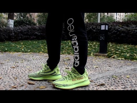 21808884f66 Semi Frozen Yellow 350 V2 Matches Retails 99.99% On Feet Review ...