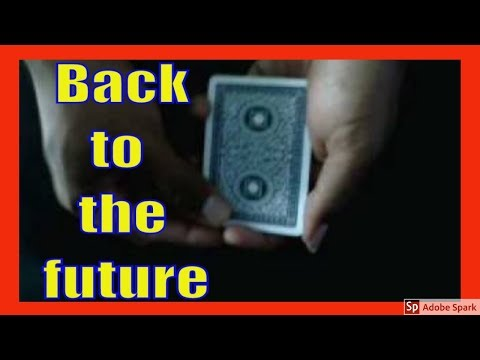 ONLINE MAGIC TRICKS TAMIL I ONLINE TAMIL MAGIC #120 I Back to the future