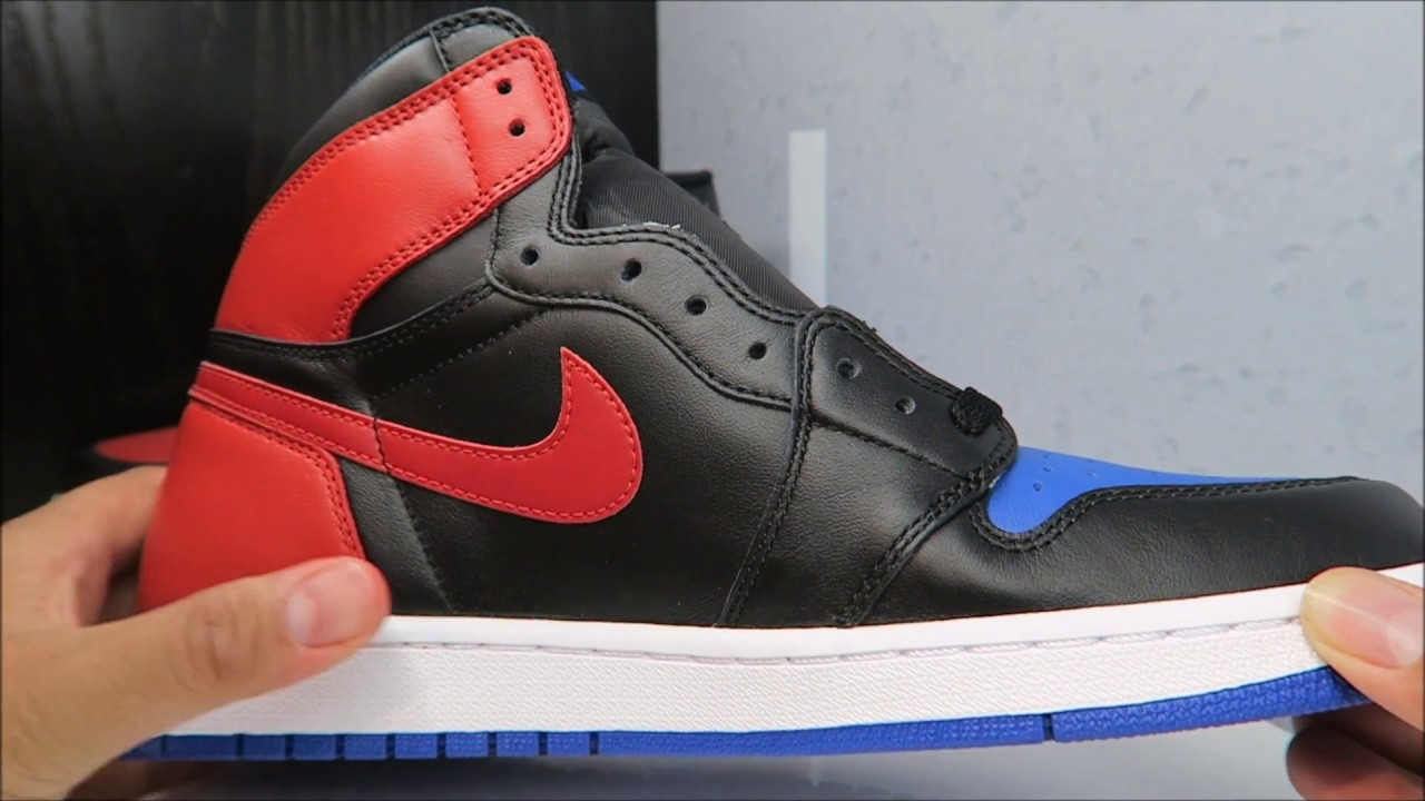 huge discount 82b0c 4522f AIR JORDAN 1 TOP 3 RETRO SNEAKER REAL REVIEW - YouTube