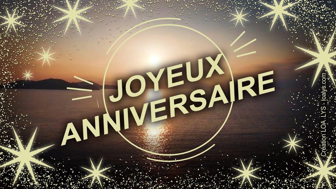 Joyeux Anniversaire Carte Virtuelle D Anniversaire Joyeuxanniversaire Youtube