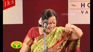 Margazhi Utsavam Aruna Sairam Part 01 - On 09/01/15