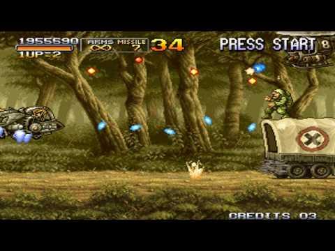 Metal Slug 3 Final Mission 1  