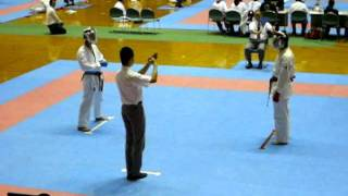 30th Okinawa Prefectural Competition - Kumite 06