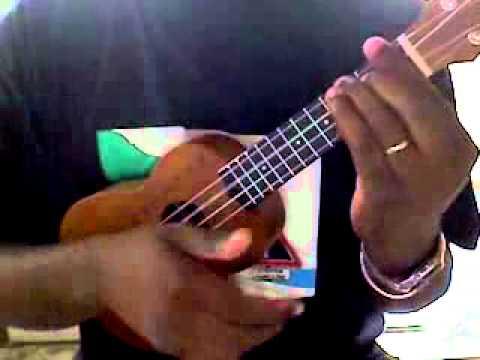 asa fire in the mountain ukulele - YouTube