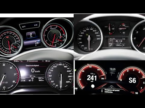 TOP 15 (0-200 km/h) Diesel Cars Acceleration