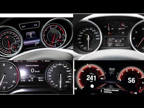 TOP 15 (0-200 Km/h) Diesel Cars Acceleration