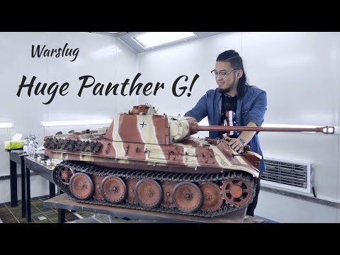 Painting a Huge Panther G Tank!