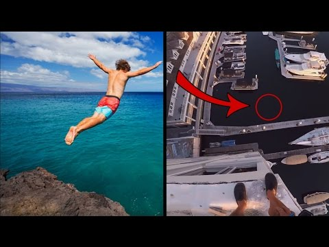 Top 10 CRAZIEST Cliff Jumps On Youtube 2016! Do NOT Click If You