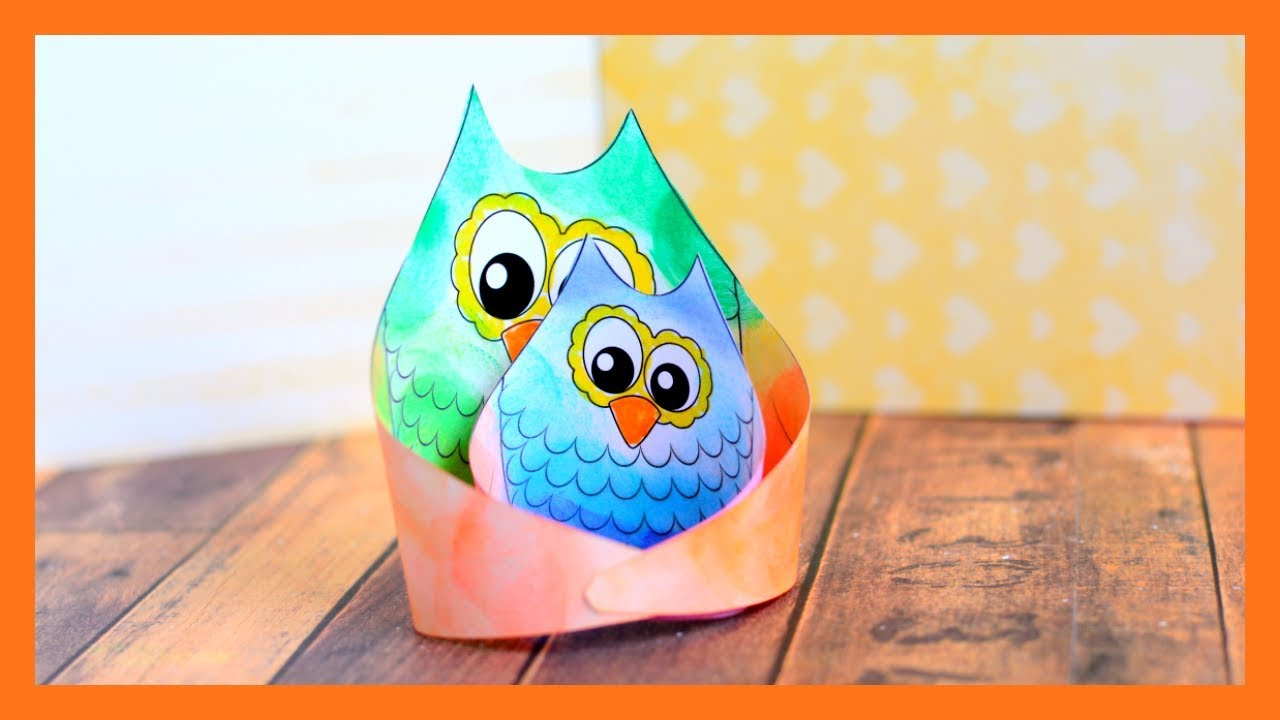 Owl Craft Template Fall Paper Craft Idea For Kids