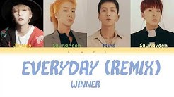 Download winner everyday remix mp3 free and mp4