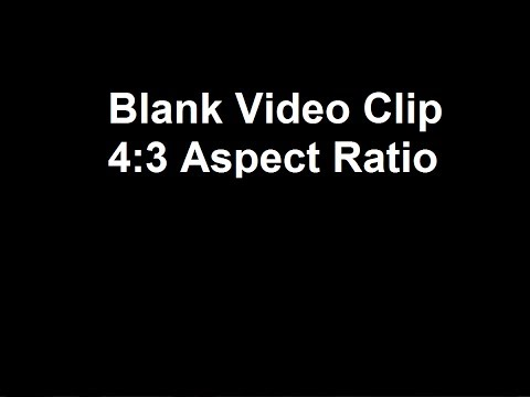 Blank Black Screen For Video Editing - YouTube