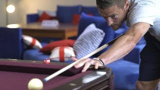 Jamie Vardy Plays Pool & Darts In World Cup Camp