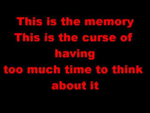 Mayday Parade The Memory lyrics