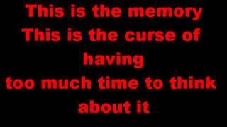 Mayday Parade The Memory lyrics