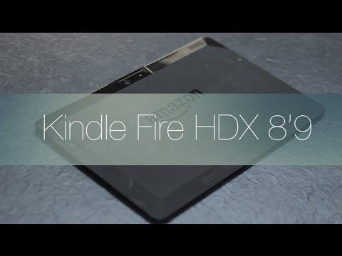 review kindle fire hdx 8 9 en español youtube