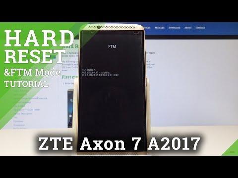 FTM Mode ZTE Axon 7 - How To Enter & Exit FTM Mode In ZTE Phone